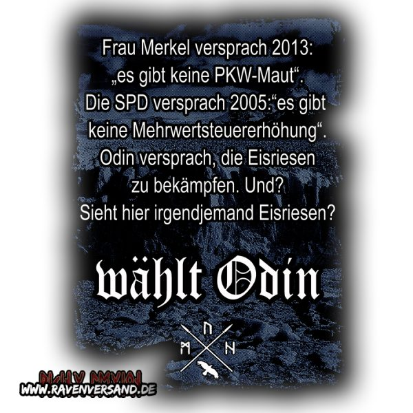 wählt Odin Motiv
