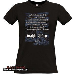 wählt Odin T-shirt schwarz Frauen
